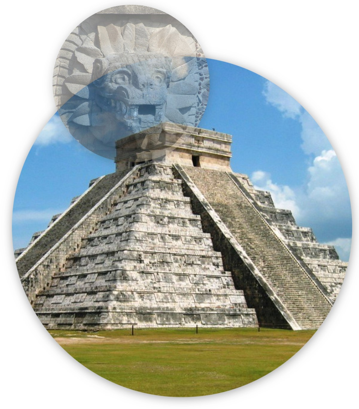 Feathered Serpent at Chichen Itza During the Equinox